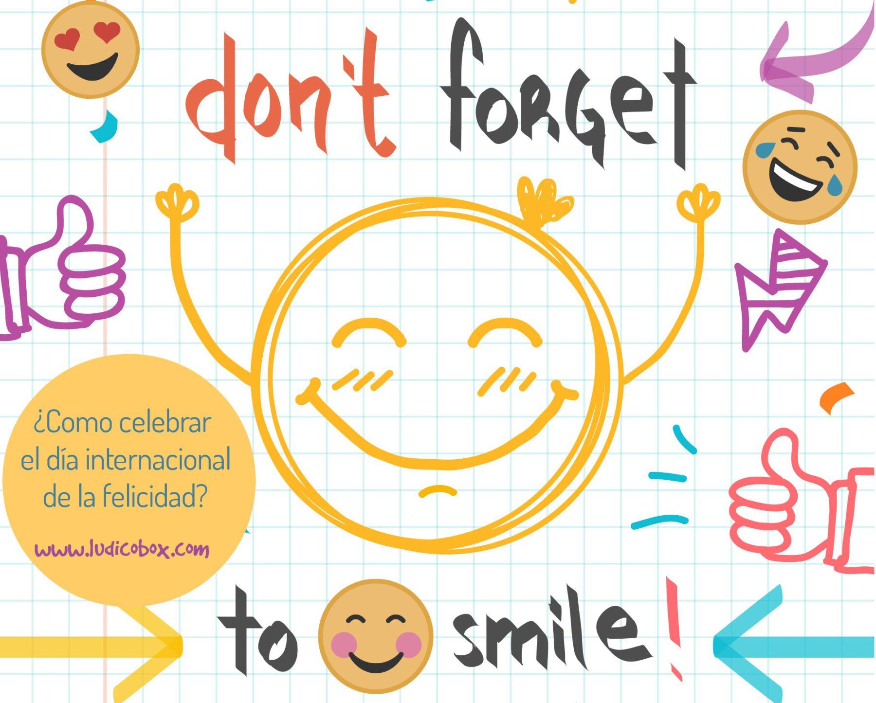 ¿Cómo celebrar el día internacional de la felicidad?