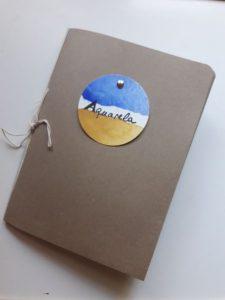 cuaderno de artista portada