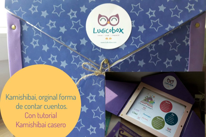 "Kamishibai, tutorial Ludicobox en ""Bloggers and family"""