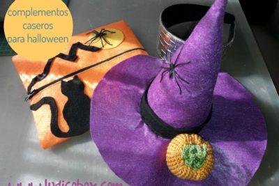 complementos caseros para halloween