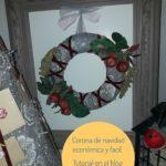 Corona de navidad económica:¿ como hacerla fácilmente ?