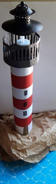 Manualidad de verano: un faro marinero DIY.