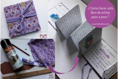 ¿ Como hacer un libro de artista paso a paso ?