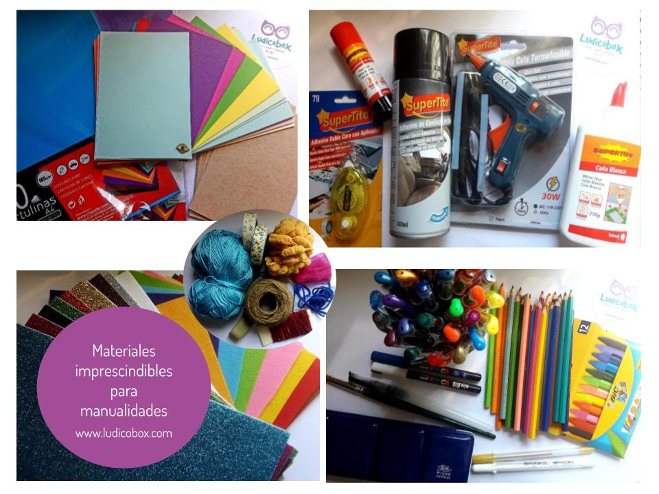 Materiales imprescindibles para manualidades