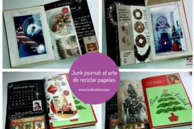 Junk journal: el arte de reciclar papeles