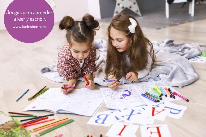 Juegos para aprender a leer y escribir con diversión