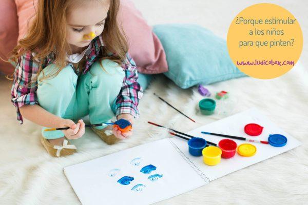 ¿porque estimular los niños para que pinten?