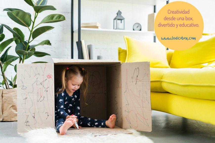 Creatividad desde una box, divertido y educativo.