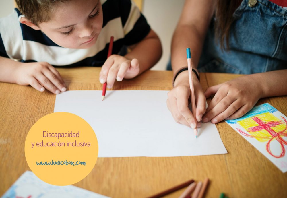 Discapacidad y educación inclusiva, ¿como lo ves?