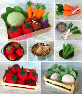 ¿como reciclar una caja en huerto con fieltro?