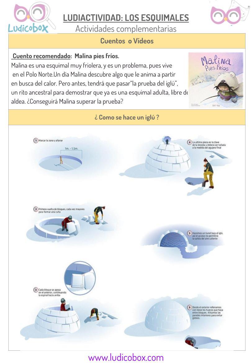 Ludiactividad Inuits- actividades complementarias 1