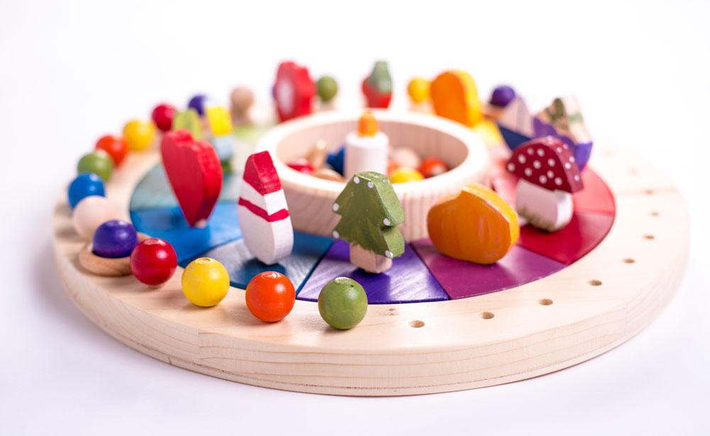 Calendario Montessori.Calendario Montessori Aserrinaserran Ludicobox