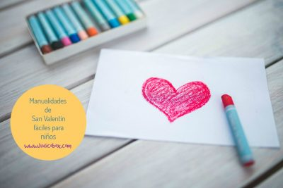 Manualidades de San Valentin fáciles para niños