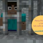 Menos Minecraft y más kids crafts en familia