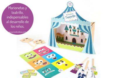 Marionetas y teatrillo, indispensables al desarrollo de los niños.