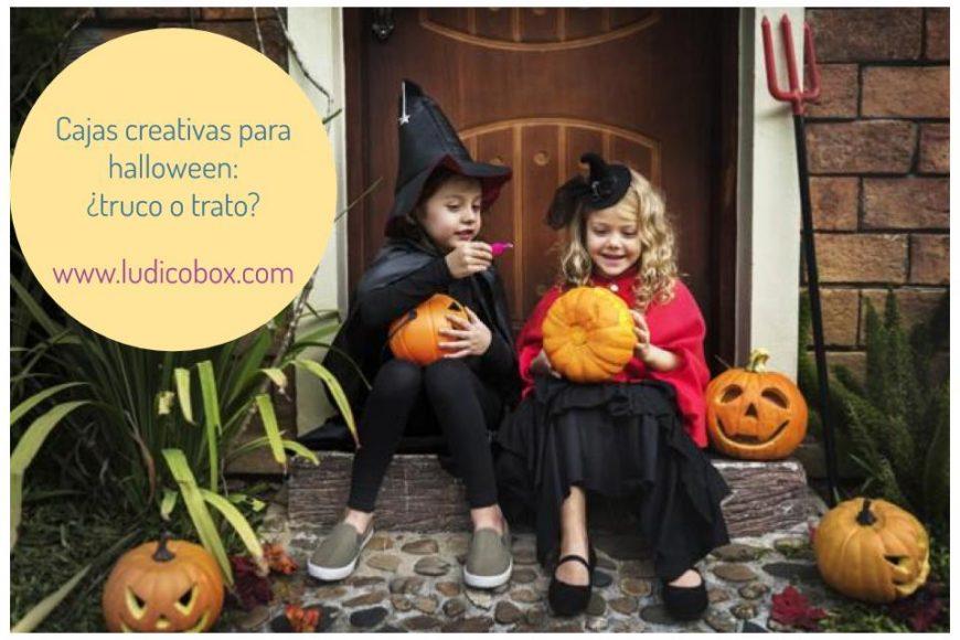 Cajas creativas para halloween:¿truco o trato?