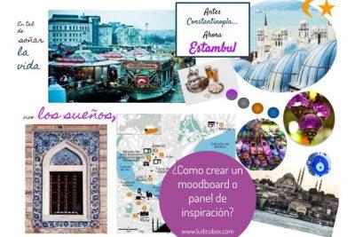 ¿Como crear un moodboard o panel de inspiración?