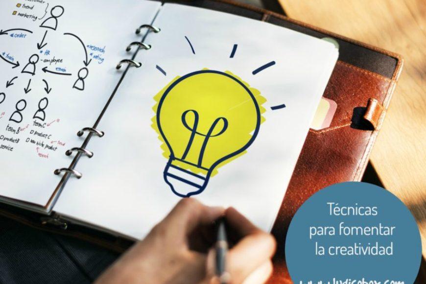 Técnicas para fomentar la creatividad que llevamos dentro